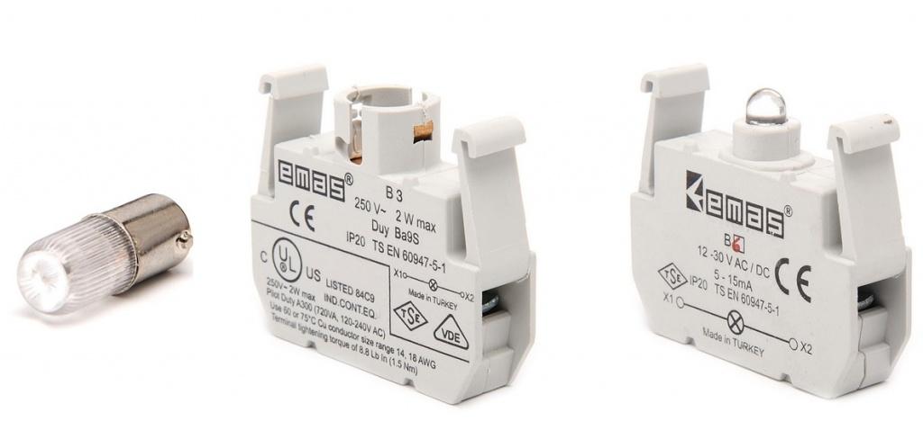 Дополнительные компоненты сигнальной арматуры B000XB