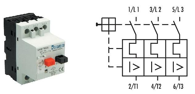При расцеплениях перегрузки и короткого замыкания чувствительность к обрыву фазы соответствует IEC 947-4-1 (DIN VDE 0660).