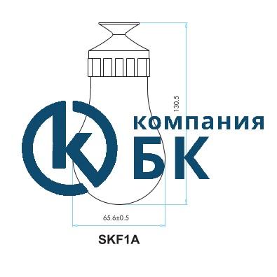 Габаритные размеры поплавкового сигнализатора уровня SKF1A